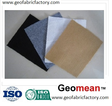 100gsm Staple PET/PP Needled Punched Non Woven Geotextile